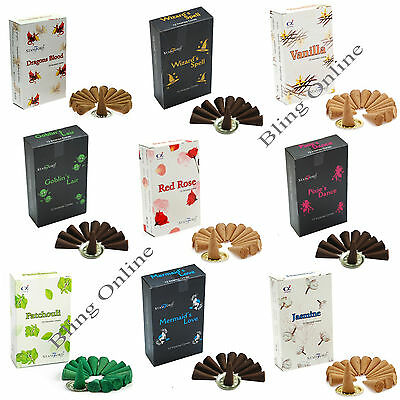 1 Pack High Quality Stamford Incense Cones Original Or Black Box, 25 Fragrances.