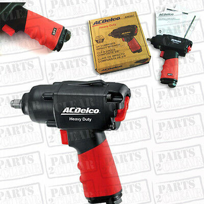 AC Delco 3/8 Composite Impact Wrench Twin Hammer Composite Heavy Duty ANI307