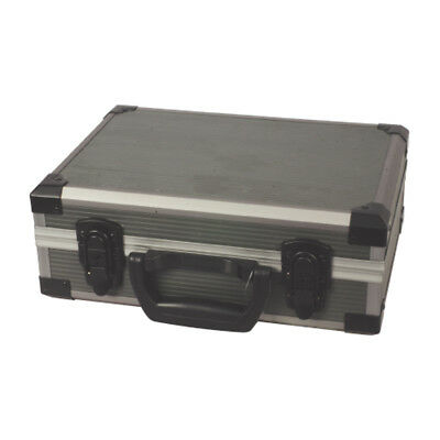 Portable Rugged Foam Interior Lockable Flight Case Grey