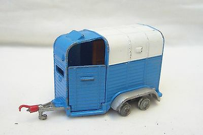 Vintage Corgi Toys Rice Beaufort Double Horse Box - Made In Gt Britain