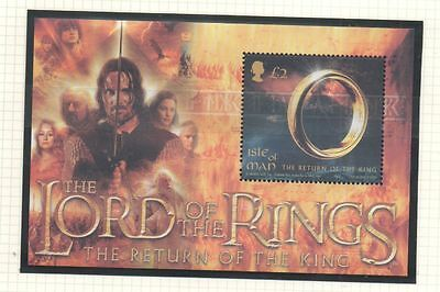 Isle of Man 2003 lord of the rings trilogy  SGMS1124 unmounted mint stamps