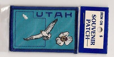 IRON ON SOUVENIR  PATCH - STATE OF UTAH