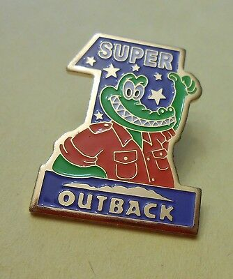 Super (Aligator with Thumbs Up Sign) Outback Steakhouse Restaurant - Lapel Pin