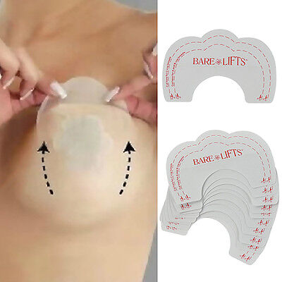 Invisible Strapless Bra Lift Push-UP Pad Cleavage Enhance Stick Nipple Cover