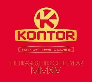 ++ Kontor Top Of The Clubs-Biggest Hits Of 2014 ++ CD OVP ++