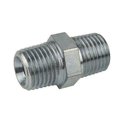 "1/2"" BSP Male to Male Air Line Hose Compressor Fitting / Connector / Union FT0"