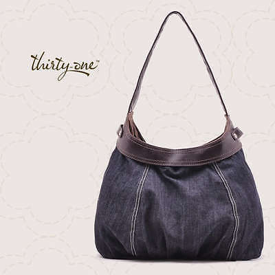 *NEW* Thirty One CITY PURSE *SKIRT ONLY* in DARK DENIM - for 31 HOBO Bag Tote