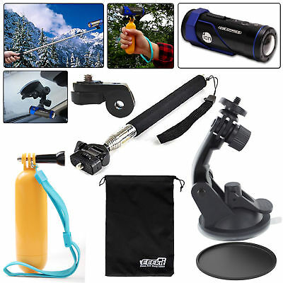 EEEKit Floating Grip Selfie Stick Suction Cup Car Mount for ION Air Pro 3/2 Lite