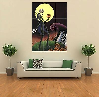 Nightmare Before Christmas New Giant Art Print Poster Picture Wall G090