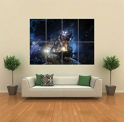 Aliens Colonial Marines Xbox New Giant Art Print Poster Picture Wall G1090