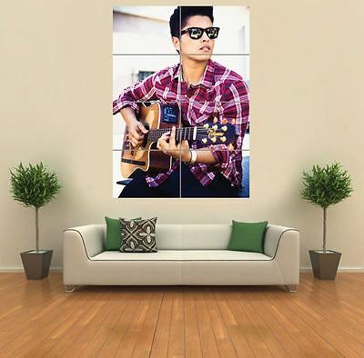 Bruno Mars Simger Musician New Giant Art Print Poster Picture Wall G1154
