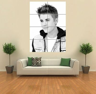 Justin Bieber New Giant Large Art Print Poster Picture Wall G1178