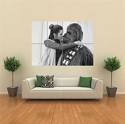 Chewbacca Star Wars New Giant Large Art Print Poster Picture Wall G1324