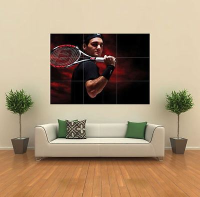 Roger Federer Tennis Sport New Giant Large Art Print Poster Picture Wall G172