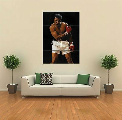 Muhammad Ali Boxing Legend New Giant Art Print Poster Picture Wall G381