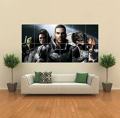 Mass Effect 2 Game New Giant Large Art Print Poster Picture Wall G419