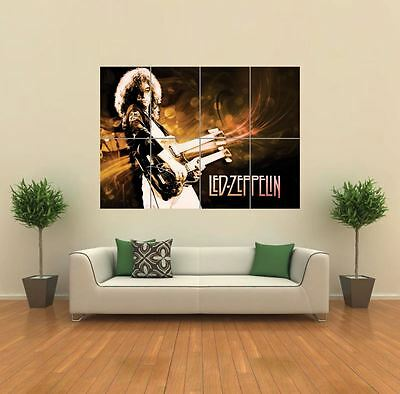 Led Zeppelin Rock Band Music New Giant Large Art Print Poster Picture Wall G774