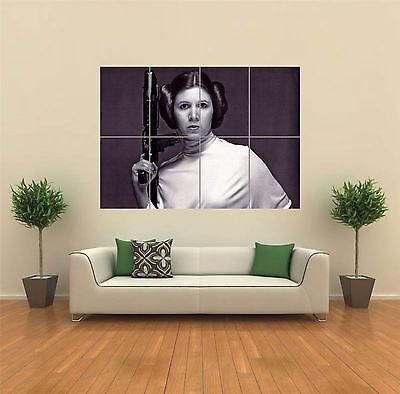 Princess Leia Starwars New Giant Large Art Print Poster Picture Wall G790