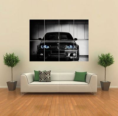 Bmw Club Georgia Car New Giant Large Art Print Poster Picture Wall G818