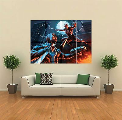 Deadpool Vs Daredevil Giant Wall Art Poster Print