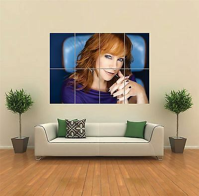 Reba Mcentire Country Music Singer Giant Wall Art Poster Print