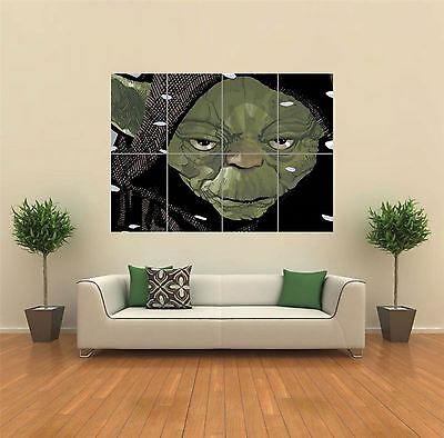 Yoda Star Wars New Giant Large Art Print Poster Picture Wall G904