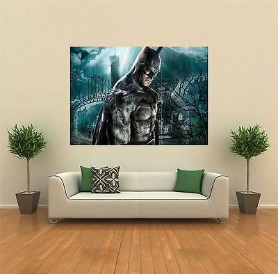 Batman Arkham Asylum New Giant Large Art Print Poster Picture Wall X1311