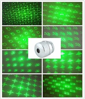 8in1 Galaxy Pattern Laser Pointer Beam Lens Accessory For Laser Pen Multi Style