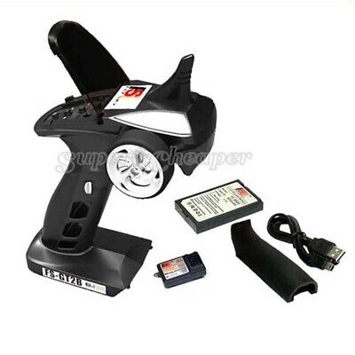 FS RC Car Boat 2.4Ghz 3CH Transmitter With Receiver GT2B
