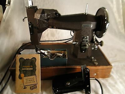 Electric Kenmore Heavy Duty Upholstery Sewing Machine Model 117-813 Parts Book!