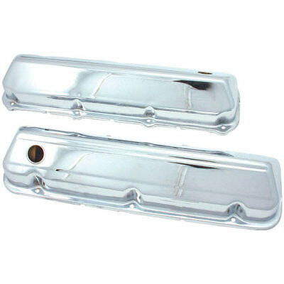 Spectre 5264 Chrome Valve Covers BB-Ford 429-460 Stock Height
