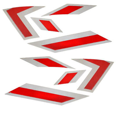 MasterCraft OEM 2013 X-Star Viper Red / Silver 8-Piece Boat Raised Decal Kit