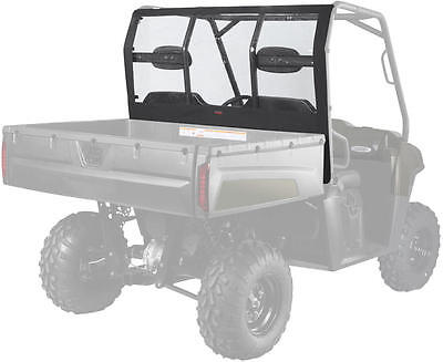 2009 Polaris Ranger XP Models UTV Roll Cage Rear Window - Black