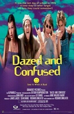 Dazed And Confused Movie Poster - Rare New Hot 24X36
