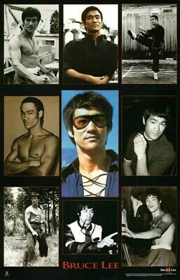 BRUCE LEE POSTER Amazing Collage RARE HOT NEW 24X36