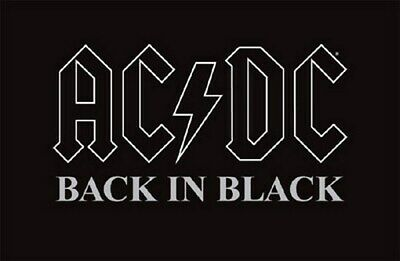 AC/DC POSTER Back In Black HOT RARE ACDC 24X36