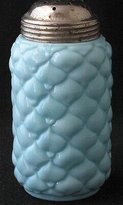 Consolidated blue opaque CONE sugar shaker EAPG
