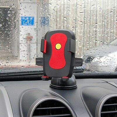 Car Windshield Auto Lock/Unlock Stand Mount Holder for HTC One M7 M8 Butterfly S