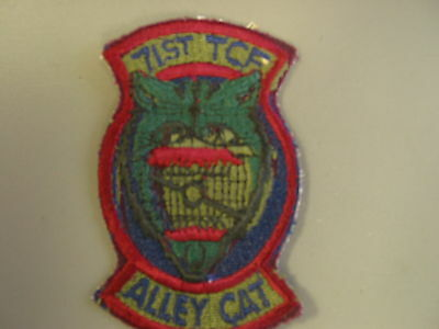 USAF 71st Tactical Control Flight patch from NS Meyers Library, new never issued