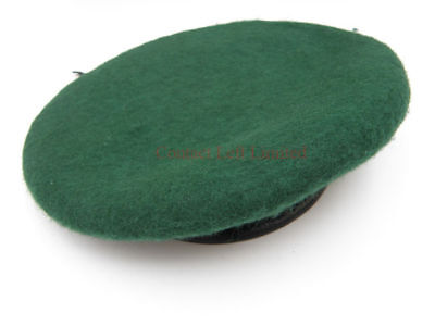 NEW Medium 57cm - 58cm Military Green Beret (British Army royal marines commando