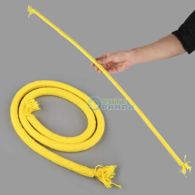 Stiff Rope Close Up Street Magic Trick Kids Party Show Stage Bend Soft Tricky