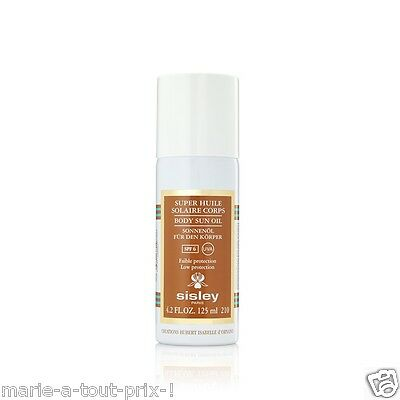 Sisley Paris Super Huile Solaire Corps Body Sun Oil Faible Protection Spf6