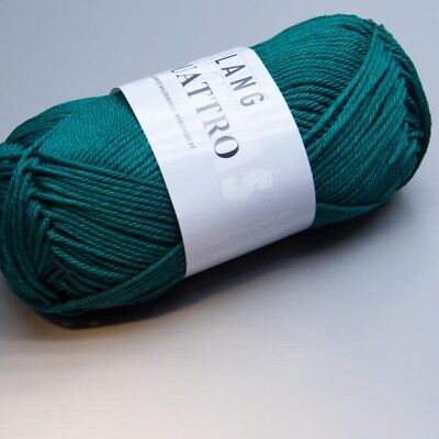 Lang Yarns Quattro 0088 everglade 50g Wolle (4.60 EUR pro 100 g)