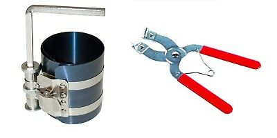 Piston Ring Installer Removal Kit Installation Pliers Ratchet Compressor Band