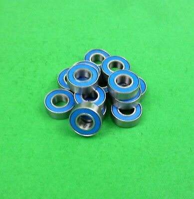 Blue sealed ball bearing set for Tamiya DT03  DT-03 Neo Fighter buggy