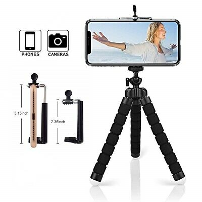 Flexible Mini Gorilla Tripod Stand Mount + Adapter For SmartPhone iPhone Camera