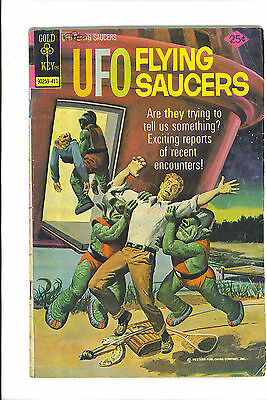 UFO Flying SAUCERS November 1974 Gold Key Comic Book Issue 4