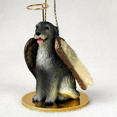 IRISH WOLFHOUND Dog ANGEL Tiny One Ornament Figurine Statue