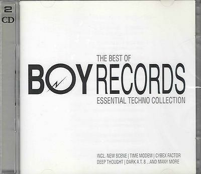 Best Of Boy Records: Essential Techno Collection (2005)- neu & OVP- D-CD