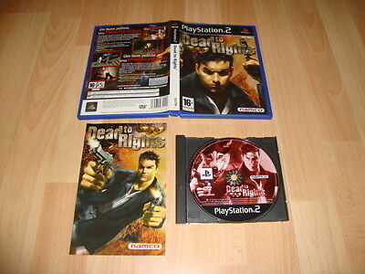 Dead To Rights 1 De Namco Para La Sony Ps2 Usado Completo